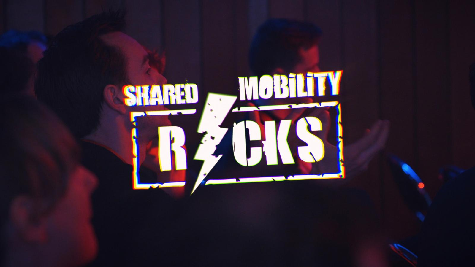 logo shared mobility rocks